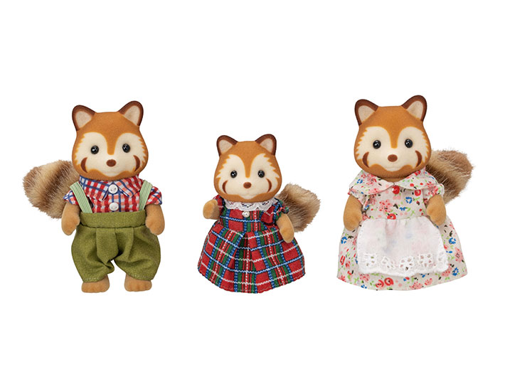 La famille panda roux - 3