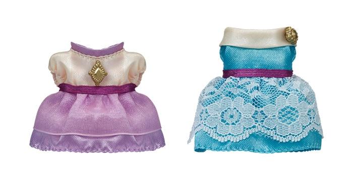 小鎮華麗服飾(淺紫及藍綠色) - 5