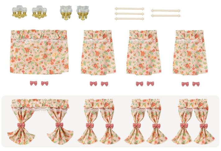 燈飾窗簾套裝 - 4