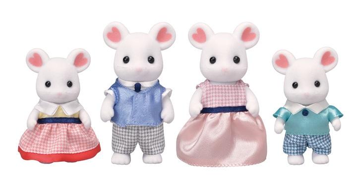 Marshmallow Mouse Family - 5