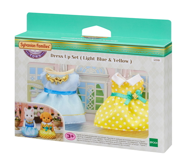 Dress Up Set (Light Blue & Yellow) - 5