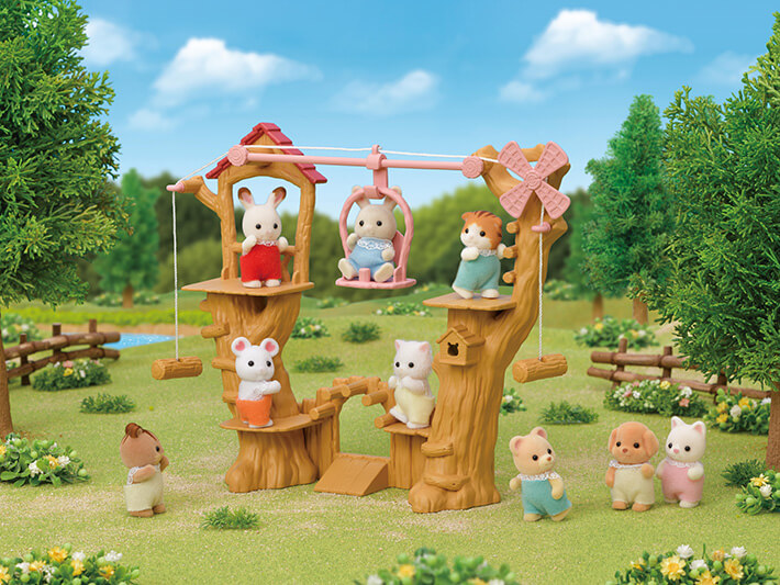 森林寶寶空中索道 - 10