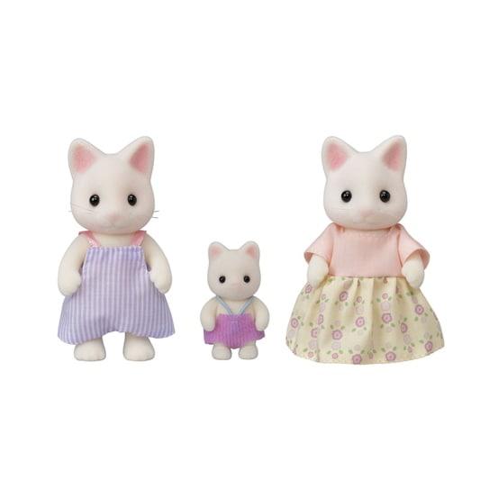 Familie witte kat - 6