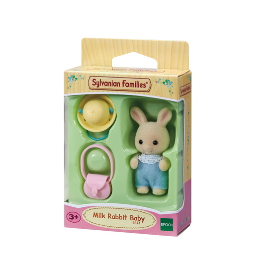Baby wit konijn - 4