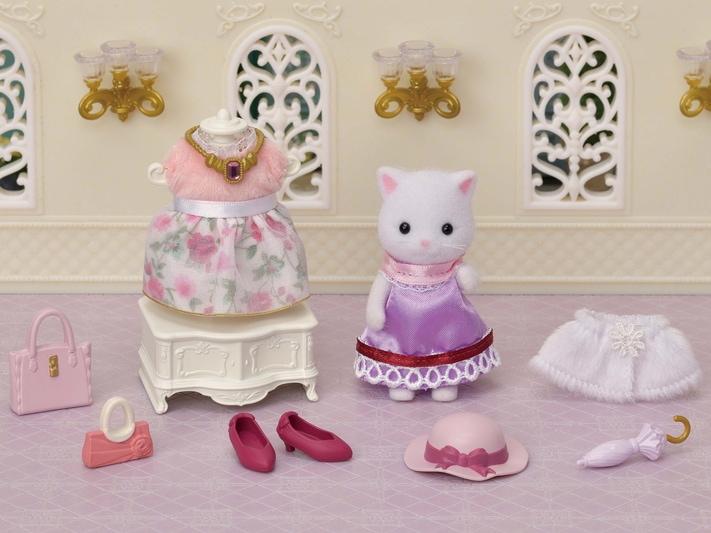 Fashion Play Set Town Girl Series - Persian Cat- - 11