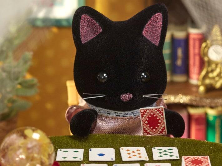 Midnight Cat Family - 5