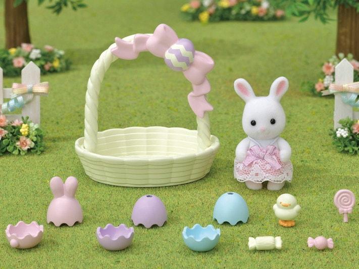 Le coffret de Pâques et bébé lapin blanc - 6