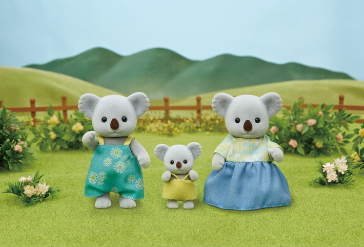 Família dos Coalas Copa de Árvore - 8