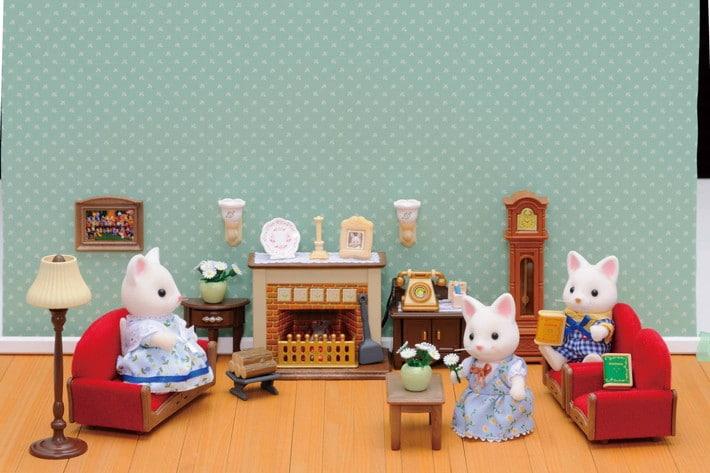 Luxury Living Room Set Sylvanian Families, Luxury Living Room Set Sylvanian Families