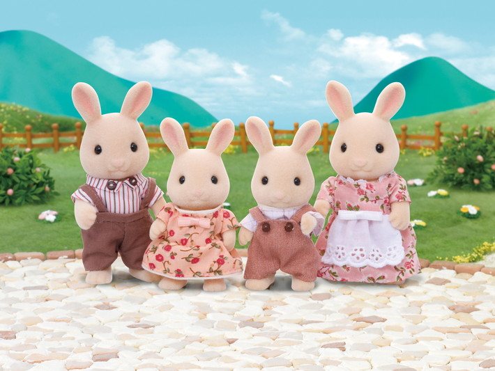 Milk Rabbit Family - 4