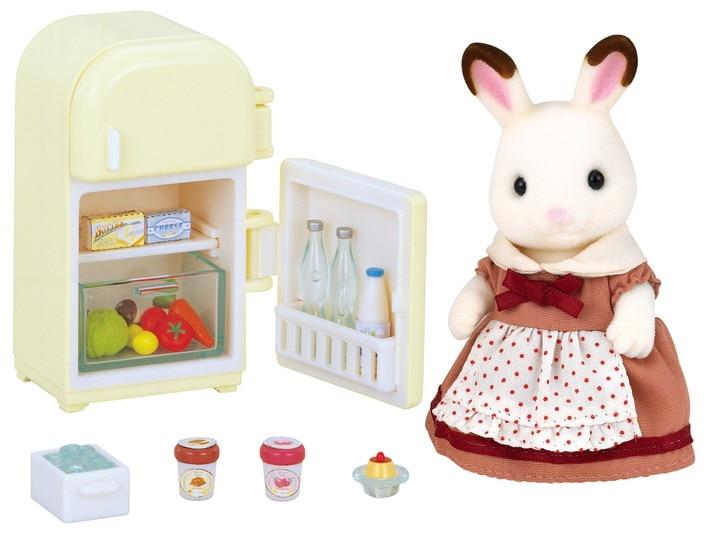 Chocolate Rabbit Mother Set - 4