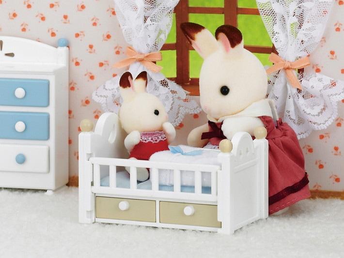 Chocolate Rabbit Baby Set - 4