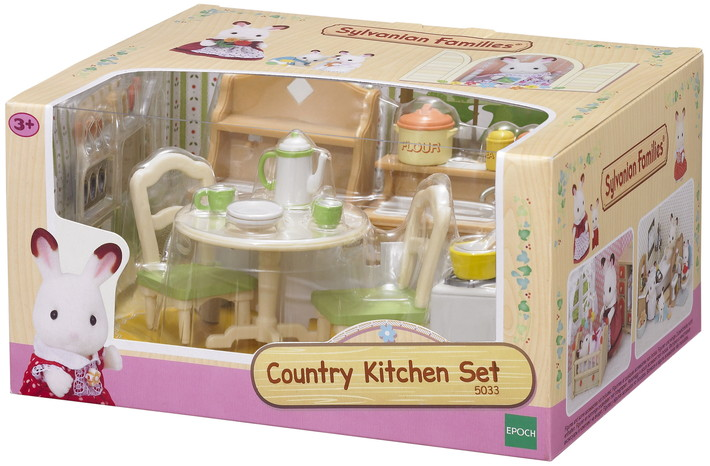 Country Kitchen Set - 8
