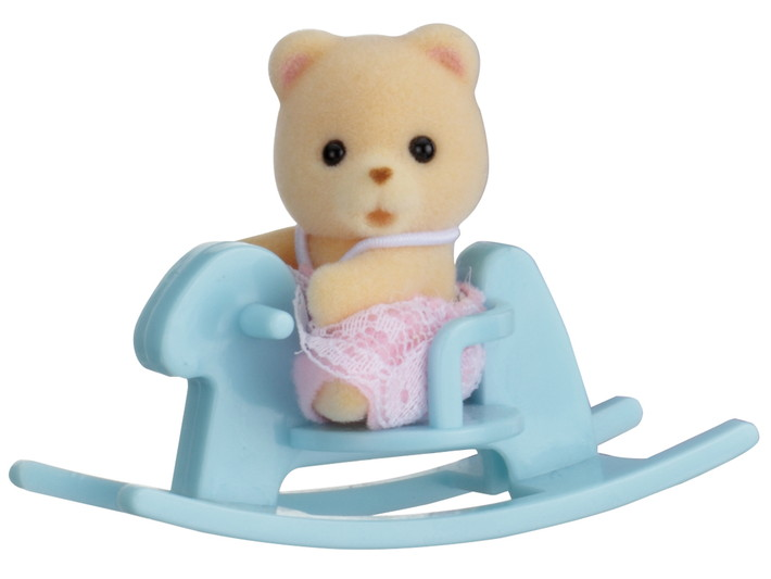 Baby Carry Case (Bear on Rocking Horse) - 3