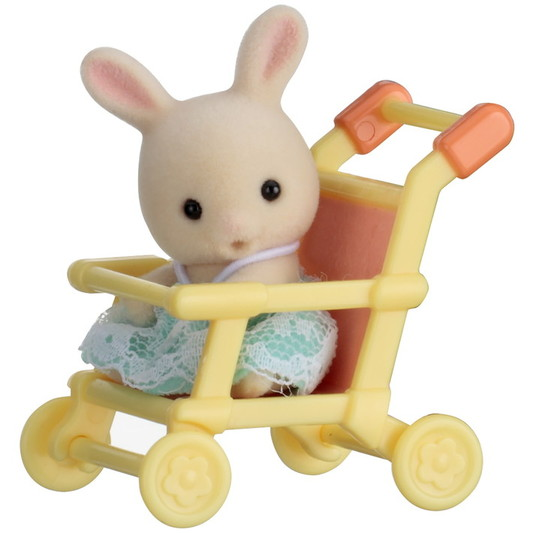 Baby Carry Case (Rabbit on Pushchair) - 3