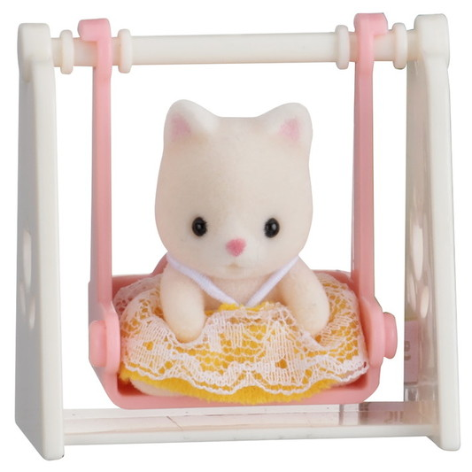 Baby Carry Case (Cat on Swing) - 3