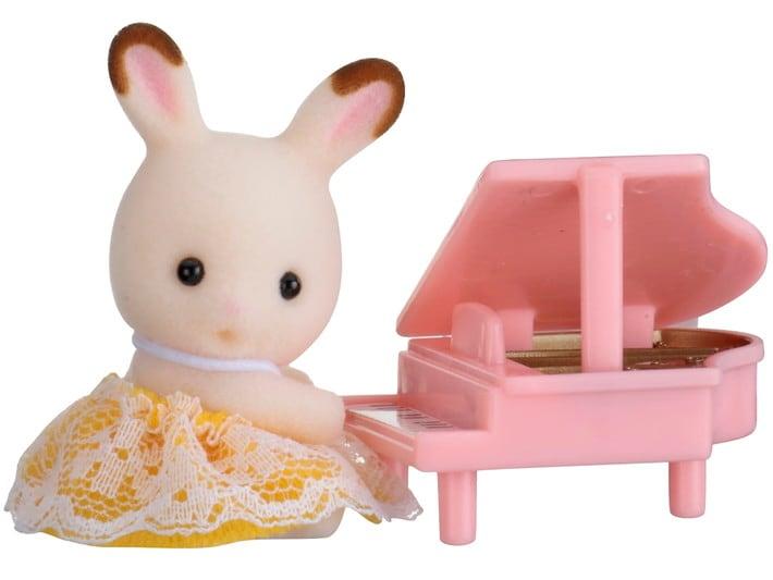 Bebek Taşıma Seti - Tavşan Bebek ve Piyanosu - 3