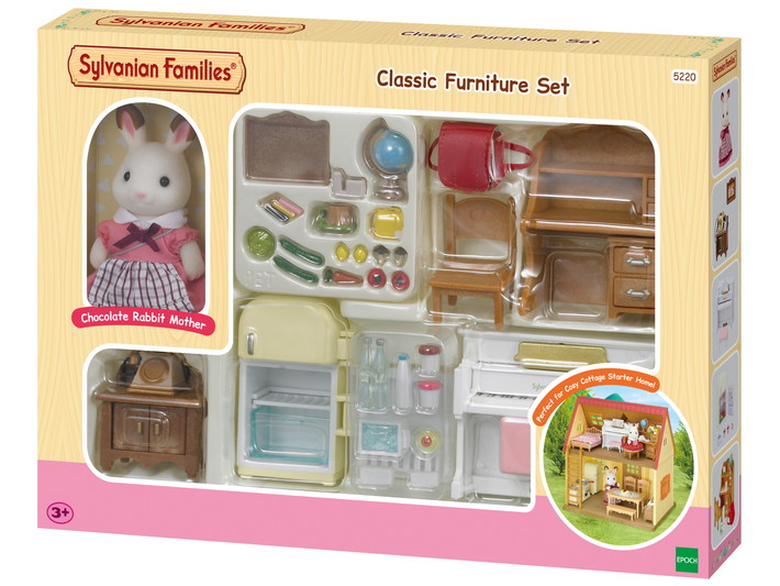 Classic Furniture Set -for Cosy Cottage Starter Home- - 8