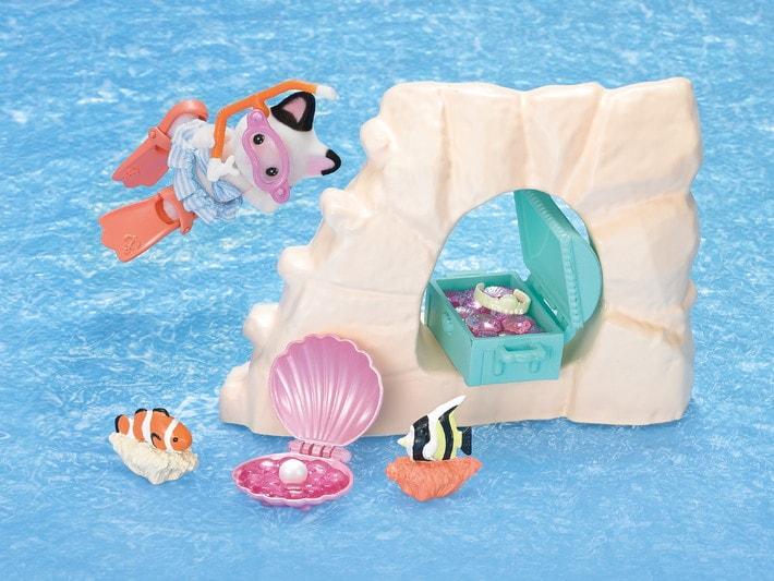 La chasse au trésor aquatique et figurine - 6