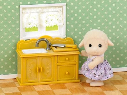 Sesutė avytė ir virtuvės komplektas - 2