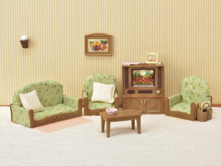 Living Room & TV Set - 8