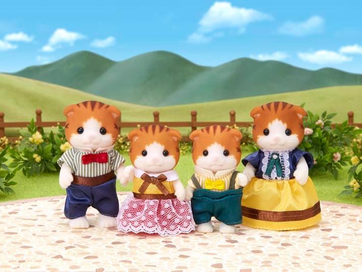 Maple Cat Family - 4
