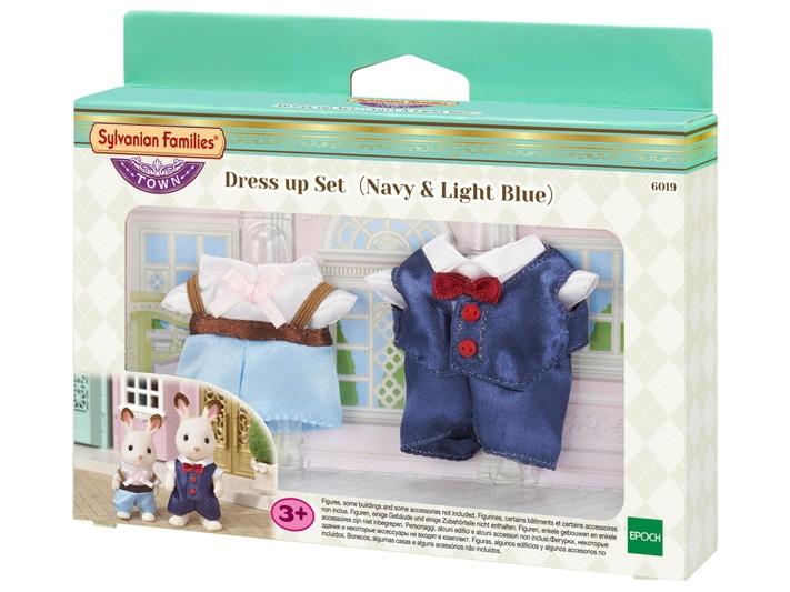 Dress up Set (Navy & Light Blue) - 5