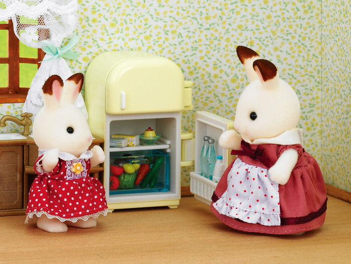 Set Moeder Chocoladekonijn (koelkast) - 4