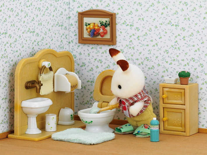 Triušiukas ir vonios kambarys - 4