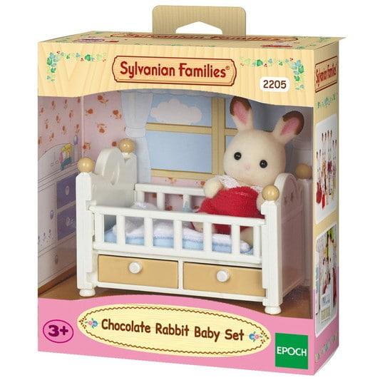 Çikolata Kulaklı Tavşan Bebek Seti (Bebek Yatağı) - 4
