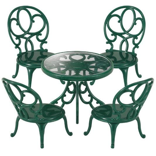 Dārza galds ar krēsliem - 4