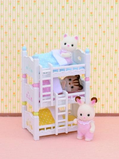 Les lits superposés à 3 couchettes bébés - 5