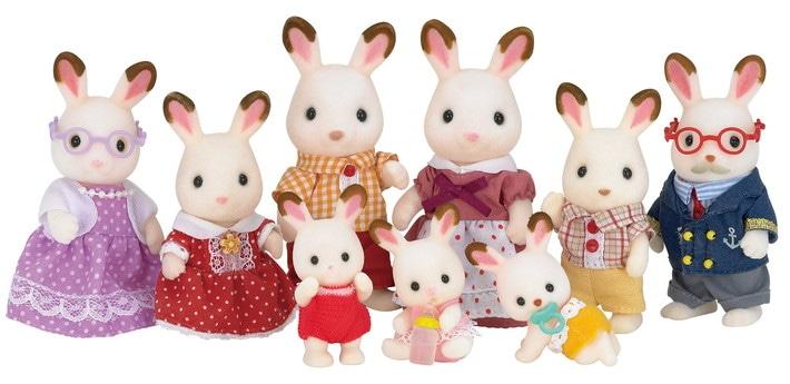 La famille lapin chocolat - 7