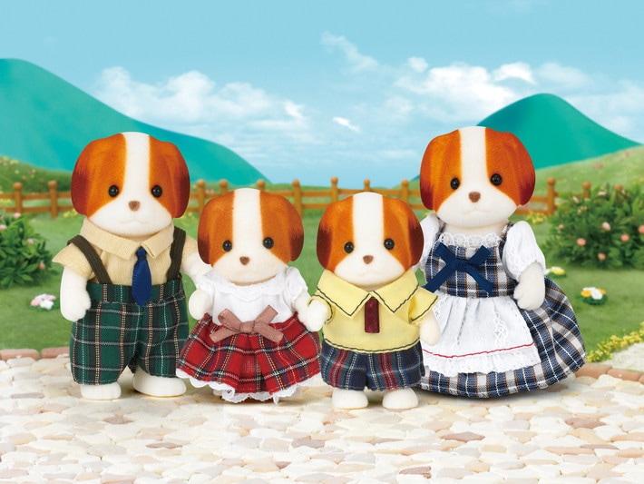 Chiffon Dog Family - 4