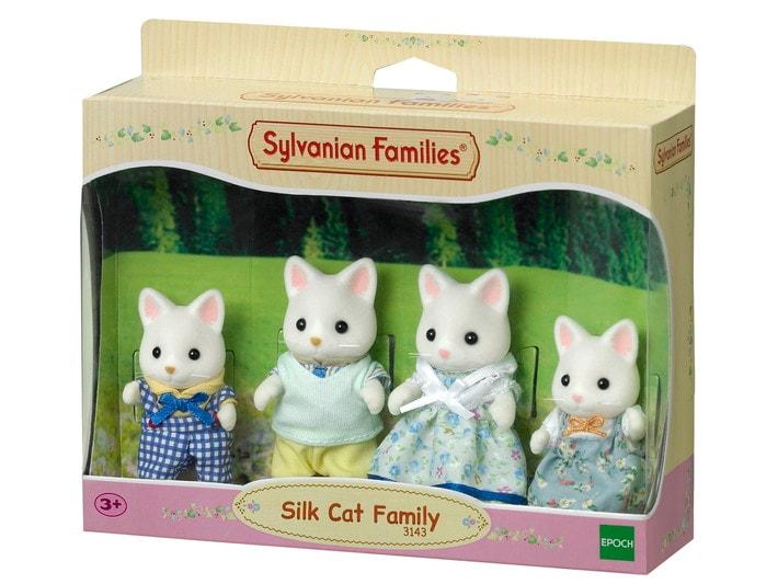 La famille chat soie - 3