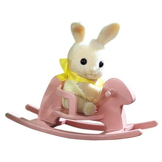 Rabbit on rocking horse - 3
