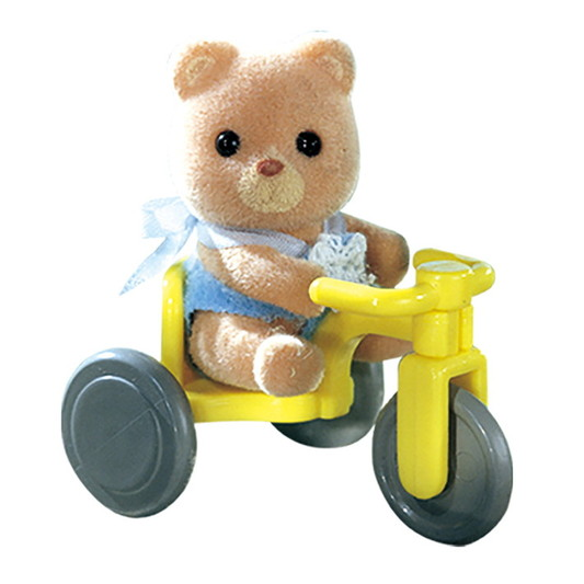 Bear on tricycle - 3