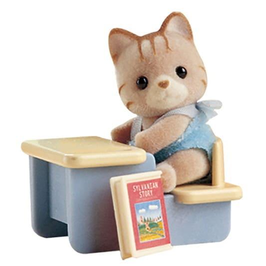 Cat at Desk - 3