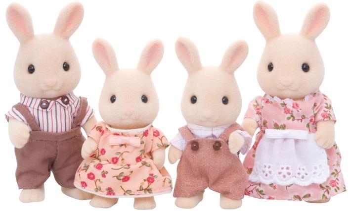 La famille lapin crème - 4