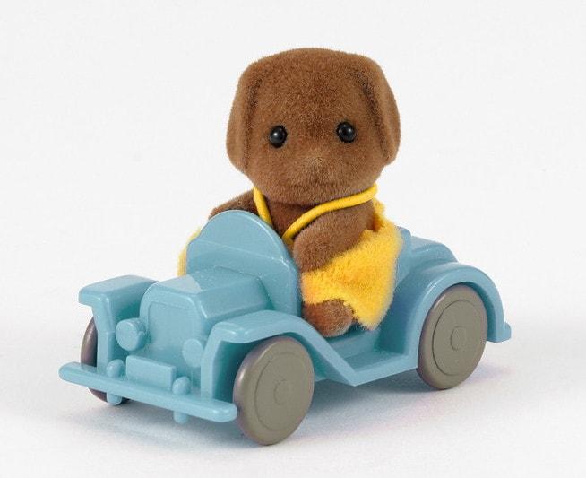 Suņu mazulis ar auto - 3