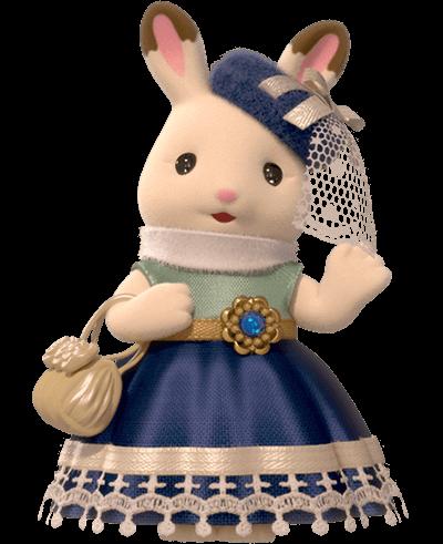 Hermana mayor de la Familia Conejo Chocolate