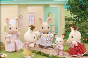 The Chocolate Rabbit Baby's Day at the Doctors