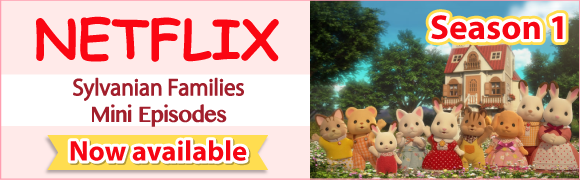 Sylvanian Families Mini Episodes. It's coming to Netflix from November 1st!